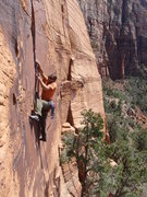 Rock Climbing Photo: this climb is a real beauty!