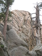 Rock Climbing Photo: Castle Rock - Southwest Face, Big Bear