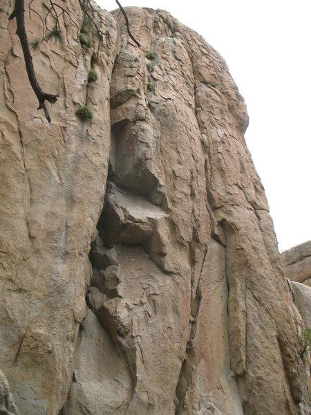 Castle Rock - South Face, Big Bear
