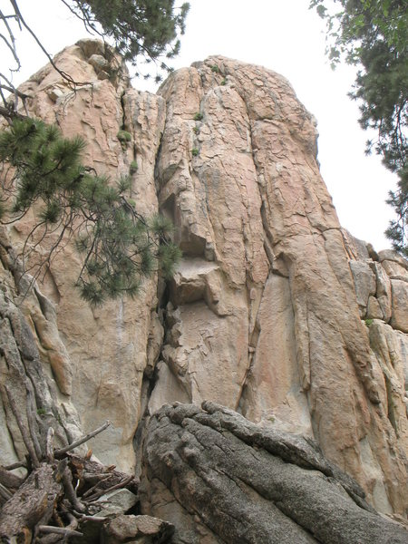Castle Rock - South Face, Big Bear