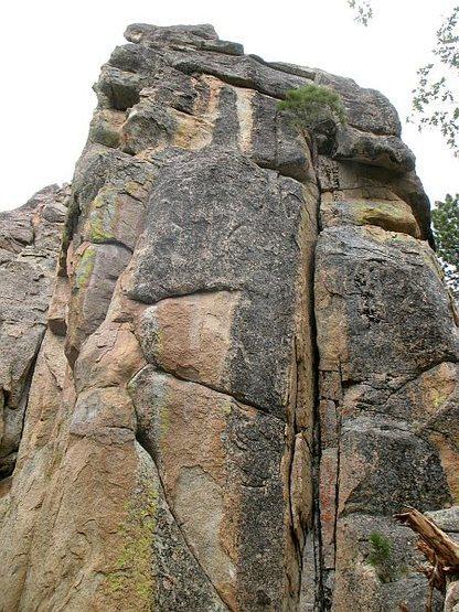 Castle Rock - East Face (Right Side), Big Bear