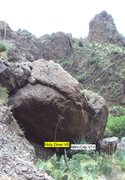 Rock Climbing Photo: Mini Cap Boulders