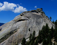 Rock Climbing Photo: The worst of the runnouts is from a visible horizo...