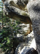 Rock Climbing Photo: The area around Castle Rock is littered with hundr...