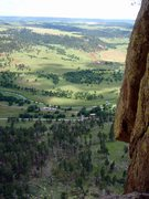 Rock Climbing Photo: thirdish pitch