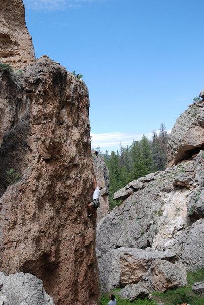 Rock Climbing Photo: Fun warm up.
