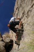Rock Climbing Photo: Me on Pin Scars 8-1-10