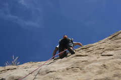 Rock Climbing Photo: Me on Pin Scars 8-1-10
