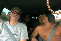 Rock Climbing Photo: Heading Home Me, Albert and RastaRaj in the back. ...