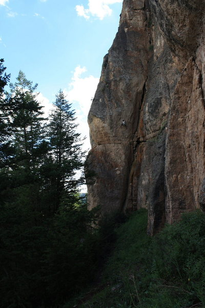 Into the crux