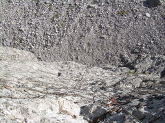 Rock Climbing Photo: Look carefully and you'll see incredible incut che...