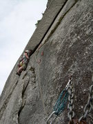 Rock Climbing Photo: Perry's layback