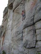 Rock Climbing Photo: Steep, cool climbing!