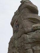 Rock Climbing Photo: Wyatt flashes the onsight!