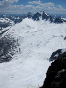 Rock Climbing Photo: Great view of Boston Glacier from the summit