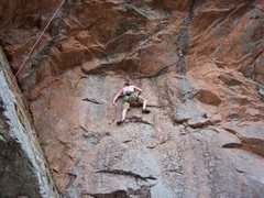 Rock Climbing Photo: Aerial Anticipation 11c, TR