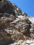Rock Climbing Photo: The start from the top of the notch as described a...