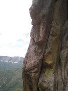 Rock Climbing Photo: Bolt at the start
