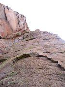 Rock Climbing Photo: Very fun crimpy moves.