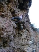 Rock Climbing Photo: Nathan Scherneck on Ruta De Niñas