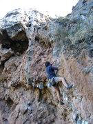 Rock Climbing Photo: Ernesto Aguilar on La Chorrera