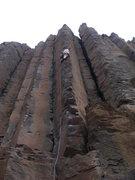 Rock Climbing Photo: The perfect reciprocal to Throbbing Gristle!