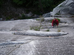 Rock Climbing Photo: Following the 2nd pitch
