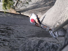 Rock Climbing Photo: Perfect hands in the Split Pillar