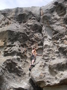 Rock Climbing Photo: Better than it looks with excellent jams at the cr...