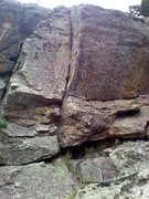 Rock Climbing Photo: Noggin from the platform.
