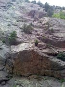 Rock Climbing Photo: Noggin from Wind Tower trail, showing some of its ...