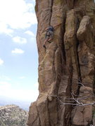 Rock Climbing Photo: No bolts...