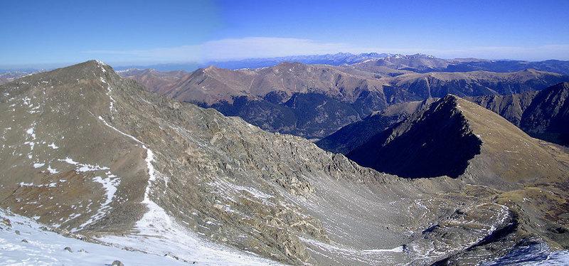 Pano of the ridge.