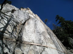 Rock Climbing Photo: Lower section of Kaleidescope (5.10c)