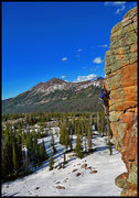 Rock Climbing Photo: Uinta Rock cover shot, revisited. GRK and a full r...