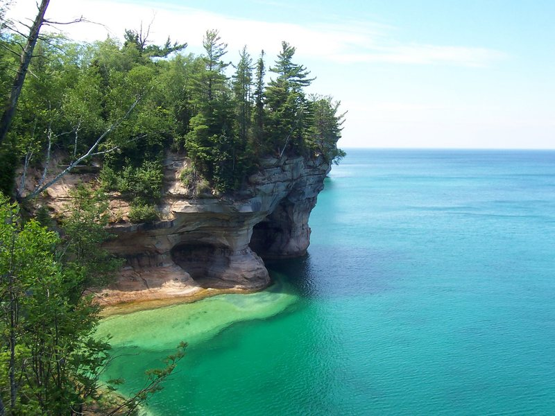 Munising and the surrounding area are also great fun during the warmer months.