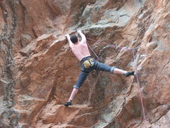 Rock Climbing Photo: Cliff Pace, Aerial Anticipation 5.11c