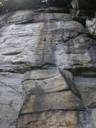 Rock Climbing Photo: From the base looking up.