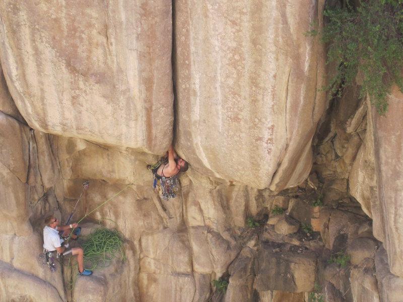 Rock Climbing Photo: Diggin in : All time loser