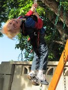 Rock Climbing Photo: My 2 year old loves his Trango Harness...