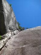 Rock Climbing Photo: Finally leading on a regular basis...Squamish 2010