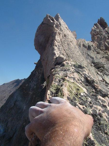 Rock Climbing Photo: Blades on Pagoda.
