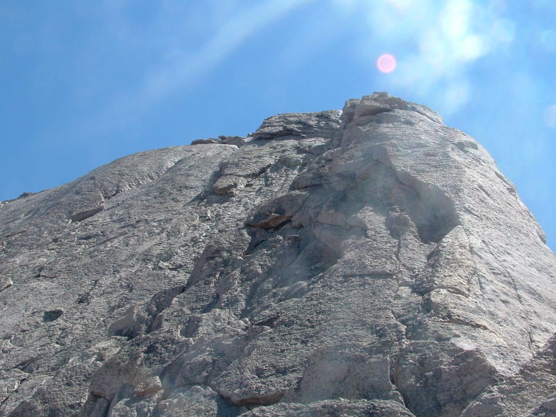 Long's SW ridge.