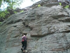 Rock Climbing Photo: The Flake at Palisades.