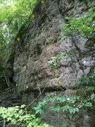 Rock Climbing Photo: Mild Iowa Wall, Pictured Rocks, Iowa. 1 - Jugular ...