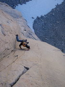 Rock Climbing Photo: 12+ 'book of secrets' pitch 4