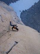 Rock Climbing Photo: 12+ 'book of secrets' pitch 4