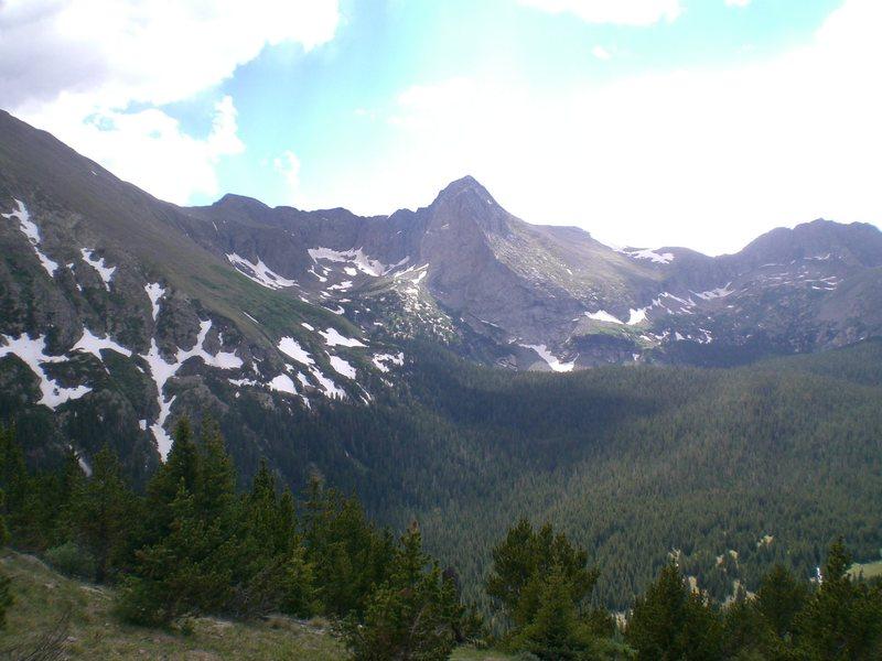 Rock Climbing Photo: Tijeras Peak, Sangre de Cristos