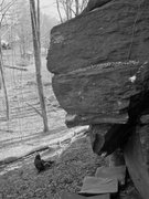 Rock Climbing Photo: Black and White