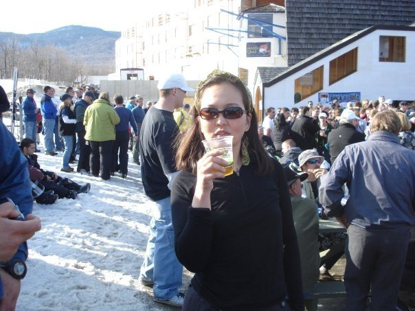 Rock Climbing Photo: Spring Apres at Jay